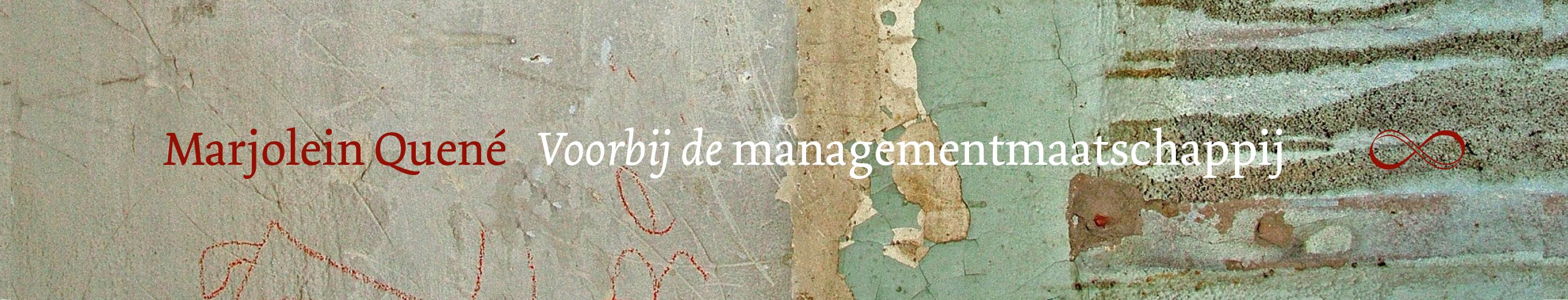 Voorbij de managementmaatschappij